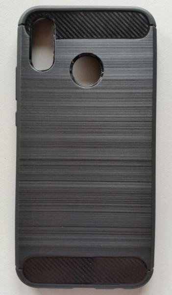 """TPU BRUSHED maska za Huawei P20 LITE 2018 (5.84""""), crna"""