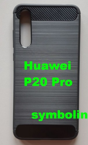 TPU Brushed za Huawei P20 Plus, P20 Pro crna