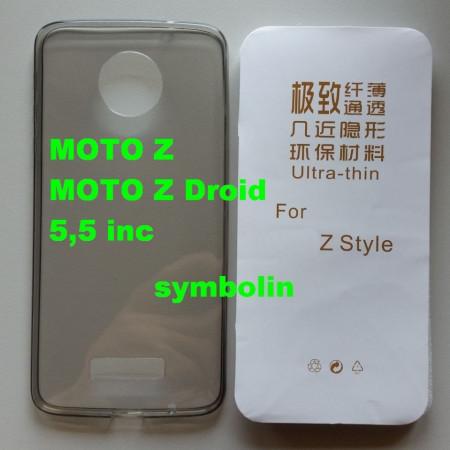 TPU maska 0,3mm za Motorola Moto Z 5,5inč dim providna ultra tanka