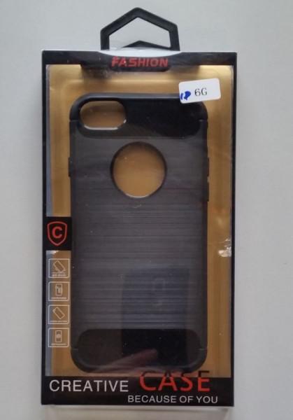 """TPU maska BRUSHED za IPHONE 6 4.7""""   black"""