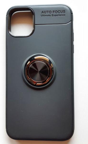 """TPU maska MAGNET RING za iPhone 11 2019 (6.1"""") crna"""