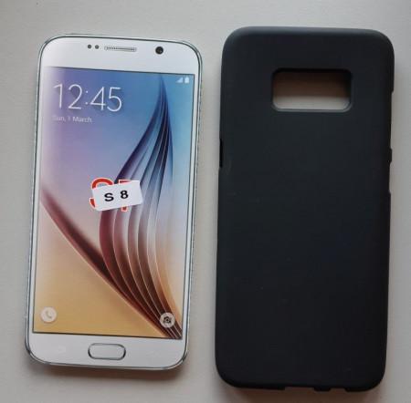 TPU maska Puding za SM-G950U Galaxy S8 crna