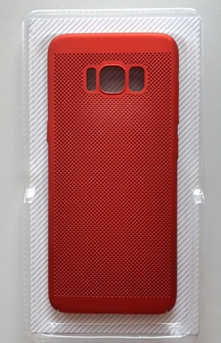 TPU/PC BREATH maska za SM-G950F GALAXY S8, crvena
