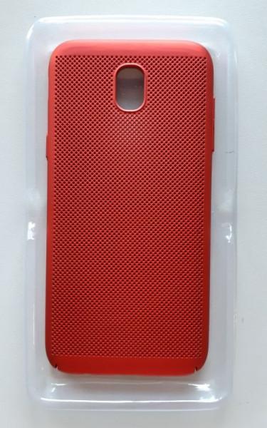TPU/PC BREATH maska za SM-J530F Galaxy J5 2017, crvena
