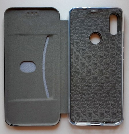 "Preklopna futrola LEATHER za Xiaomi REDMI Note 7, Note 7 Pro 2019 (6.3""), crna"