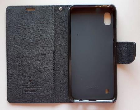 "Preklopna futrola MERCURY za Samsung Galaxy SM-A105F A10 2019, A10S 2019 (6.2"") crna"