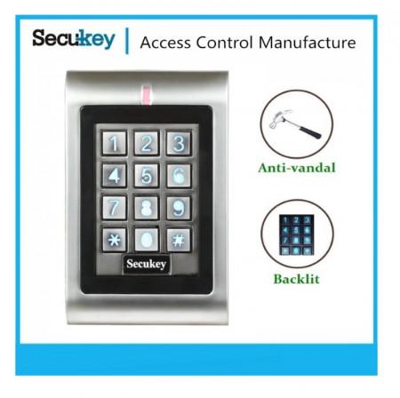 Samostalna kontrola pristupa Secukey SK1-W sa jednorelejnim izlazom
