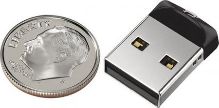 SanDisk Cruzer Fit USB Flash Drive SDCZ33-016G - 16Gb