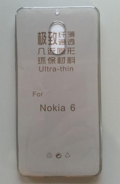 Silikonska maska leđa Nokia 6 dim providna