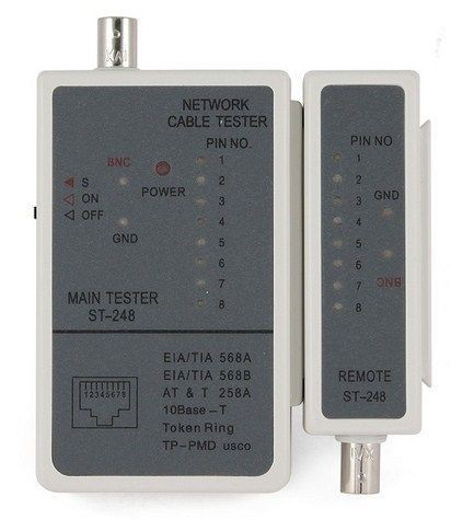 Tester LAN kabla, LAN kabal ispitivač LAN-TEST-RJ45, RJ58, NCT-1 Gembird