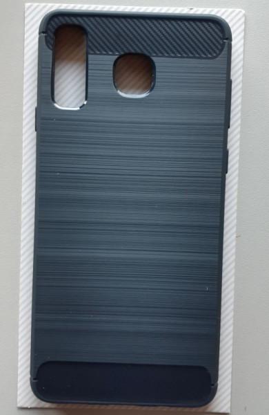 TPU maska BRUSHED za SM-G885F, Galaxy A8 Star 2018, teget plava