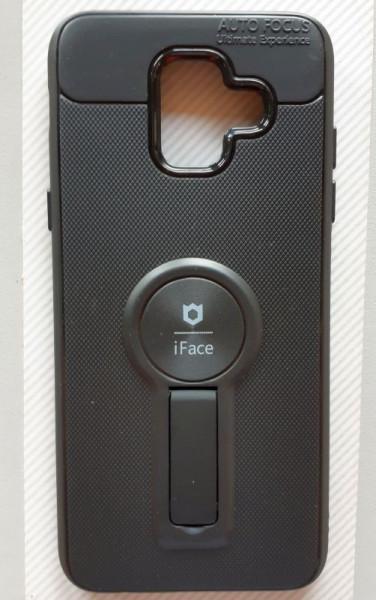 """TPU maska iFace za Samsung Galaxy A6 2018, SM-A600F (5,6""""), crna"""