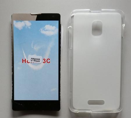 TPU Maska PUDDING Alcatel OT-5022X, POP STAR 3G providna, leđa mat