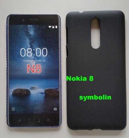 TPU maska za Nokia 8   crna