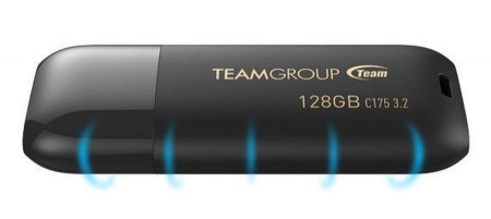 USB 3.2 Flash 32GB TeamGroup C175 TC175332GB01, black