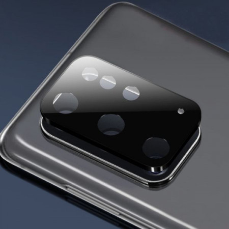 """Zaštitno staklo za kameru za Samsung SM-G985F, Galaxy S20 Plus 2020 (6.7"""") crno"""