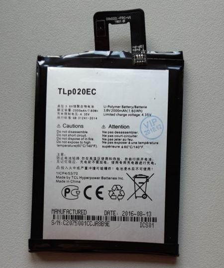 Baterija TLp020EC za Alcatel OT-6044, OT-6044D, One Touch Pop Up