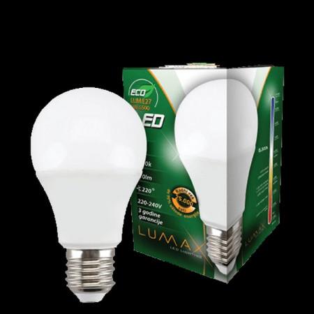 Led sijalica E27 Lumax ECO LUME27-9W 810LM 220VAC
