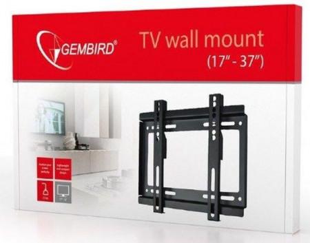 "Nosač TV fiksni 17 - 37"" Gembird WM-37F-01, VESA 200 x 200 max"