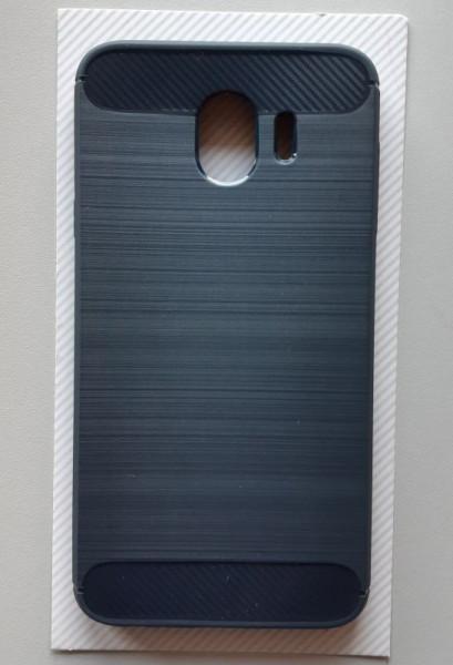 TPU Brushed maska za SM-J400F Galaxy J4 2018, tamno plava