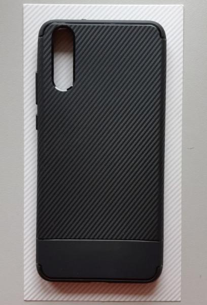 "TPU CARBON maska zaHuawei P20 2018, EML-L09 (5.8"") crna"