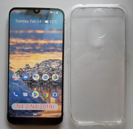 "TPU maska 0.3mm ultra tanka za Nokia 4.2 2019 (5.71"") crna"