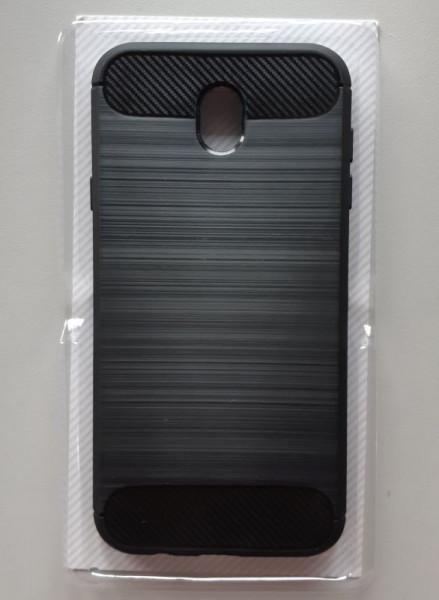 TPU maska BRUSHED za SM-J730F GALAXY J7 2017, crna