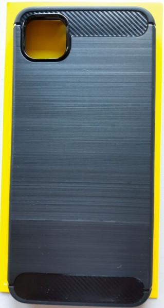 """TPU maska BRUSHED za Xiaomi Redmi 9C 2020 (6.53"""") crna"""