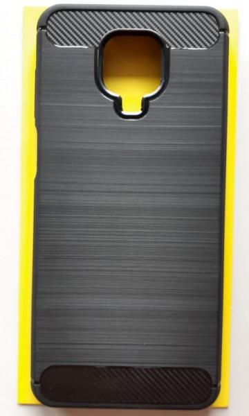 """TPU maska BRUSHED za Xiaomi Redmi Note 9 Pro 2020, Redmi Note 9S (6.67"""") crna"""