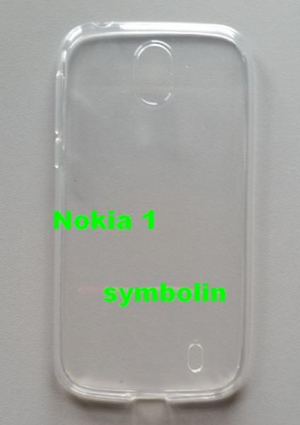 TPU maska za Nokia 1 providna ultra tanka