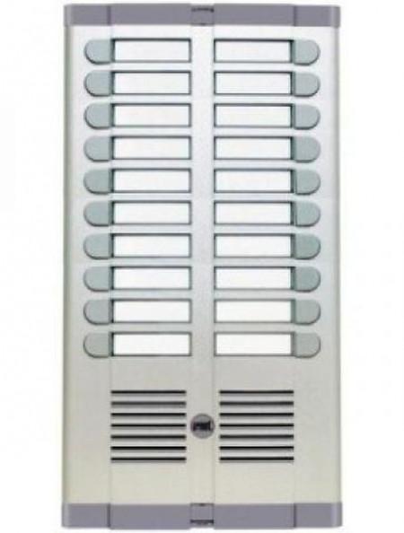 Urmet ugradna tastatura 925/220 sa 20 tastera u 2 kolone i mestom za mikrozvučnu jedinicu