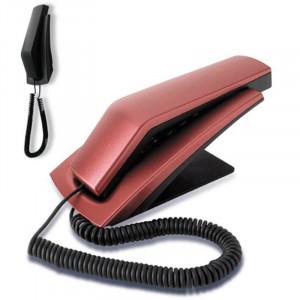 DRS TP 4001 Fiksni - Stoni telefon (boja: crvena metalic)