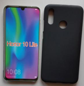 """TPU maska Pudding za Huawei Honor 10 Lite 2018 (6.21"""") crna"""