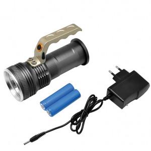 Aluminijumska LED baterijska lampa CREE XP-E LED dioda Prosto PL8408B