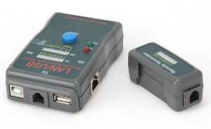 Tester LAN kabla, LAN kabal ispitivač LAN-TEST-RJ45, RJ58, NCT-2 Gembird