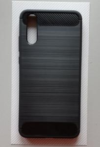 TPU BRUSHED maska za Huawei P20, crna