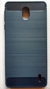 """TPU maska BRUSHED za Nokia 1 Plus 2019 (5.45"""") crna ili teget"""