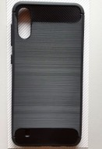 """TPU maska BRUSHED za Samsung SM-M105F, Galaxy M10 (6.2""""), crna"""