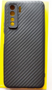 """TPU maska CARBON 0.3mm ultra tanka za Huawei P40 lite 5G (6.5"""") crna"""
