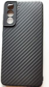"""TPU maska Carbon 0.3mm za SM-G991F, Galaxy S21 2021 (6.2"""") crna"""