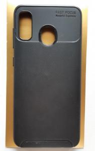 "TPU maska CARBON za Samsung Galaxy A20, A30 2019 (6.4"") crna"