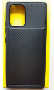 "TPU maska CARBON za Samsung SM-G770F, Galaxy S10 LITE 2020, A91 2020 (6.7"") crna"