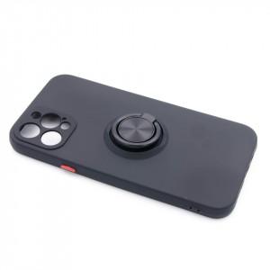"TPU maska MATTE RING za iPhone 12 2020, iPhone 12 Pro 2020 (6.1"") cvena"
