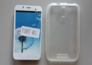 TPU Maska PUDDING Alcatel OT-4024, Pixi First 2015, providna