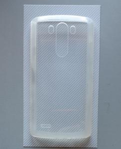 """TPU Pudding maska za LG G3 (5.5"""") 2014, providna"""