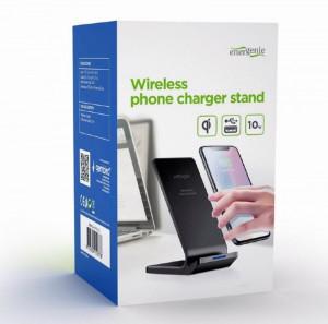 Wireless punjač za smartphone, Bežični punjač za telefone GEMBIRD EG-WPC10-02, 10W