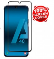 "Zaštitno staklo Tempered Glass za Samsung Galaxy A40 2019 (5.9"") Glass 5D FULL GLUE, ZAKRIVLJENO crni rubovi"