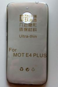 TPU 0,3MM maska za Motorola MOTO E4 PLUS, dim providna