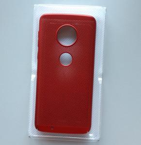 TPU maska BREATH za Motorola Moto G6, crvena