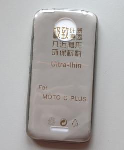 "TPU 0,3mm maska ultra tanka za Motorola Moto C Plus (5.0"") 2017, dim providna"